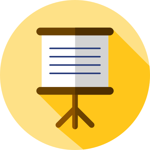 Paper, Miscellaneous, Pad, Easel, Flip Chart Icon