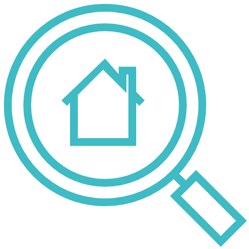 Search, House, Home, Find, Locate, Floor Icon Free Of Construction
