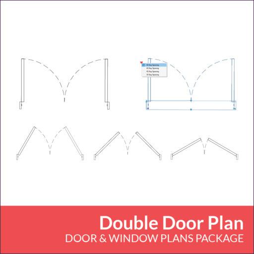Door Window Plans Package