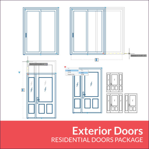 Residential Doors Package