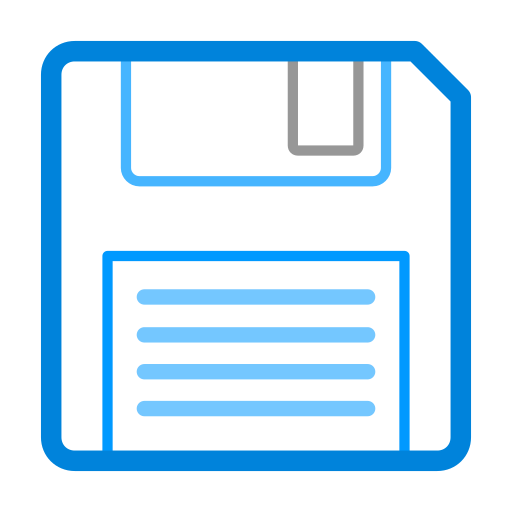 Floppy, Disk, Linear Icon Free Of Snipicons Linear