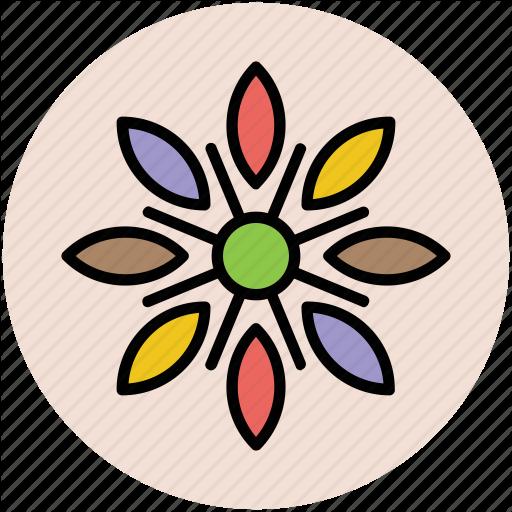 Bloom, Blossom, Decoration Flower, Design Flower, Floral, Flower Icon