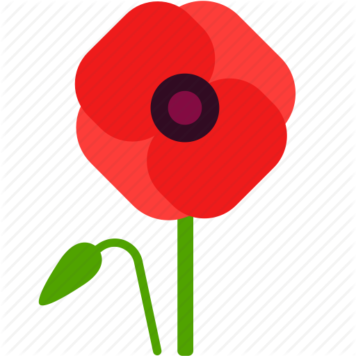Field, Floral, Florist, Flower, Poppy, Remembrance Icon