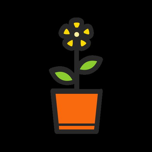 Flower, Plant, Nature, Garden, Pot, Gardening, Floral Icon