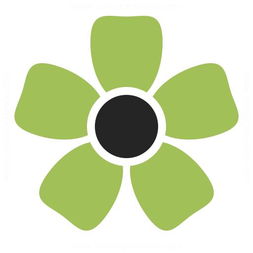 Flower Icon Iconexperience