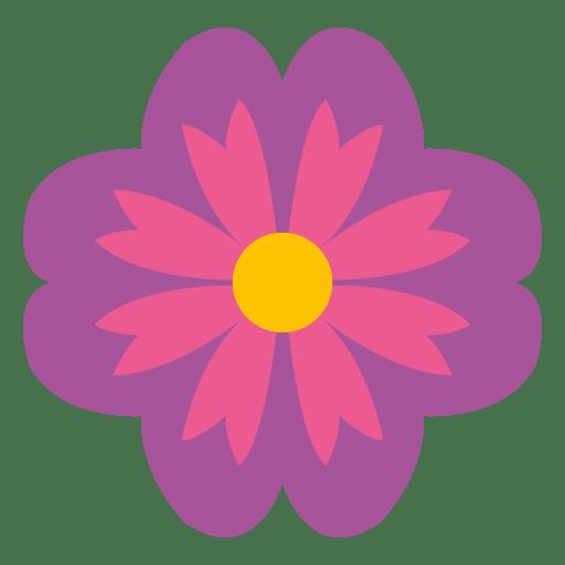 Purple Floral Icon
