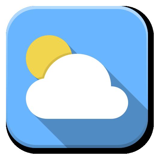 Apps Weather Icon Flatwoken Iconset Alecive