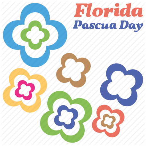 Colorful Flowers, Independence Day Text, Nature, Pascua Florida