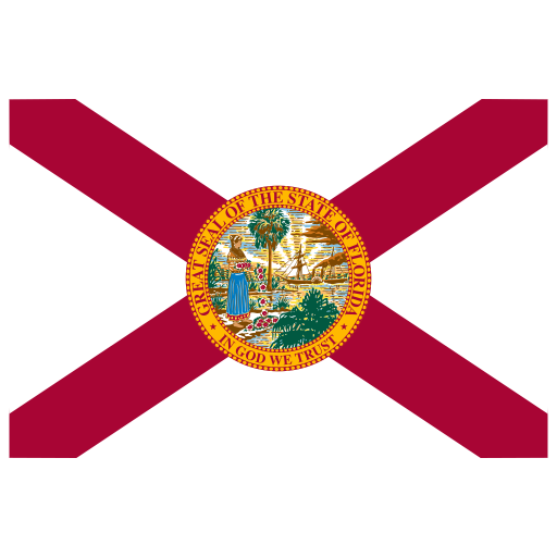 Us Fl Florida Flag Icon