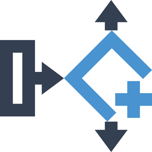Flow Chart Conditional Branch, Flow Chart, Hierarchy Icon Png