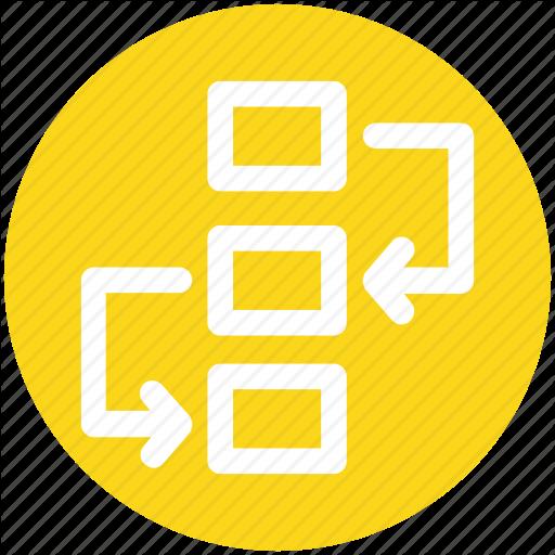 Diagram, Flowchart, Management, Project Plan, Scheme, Workflow Icon
