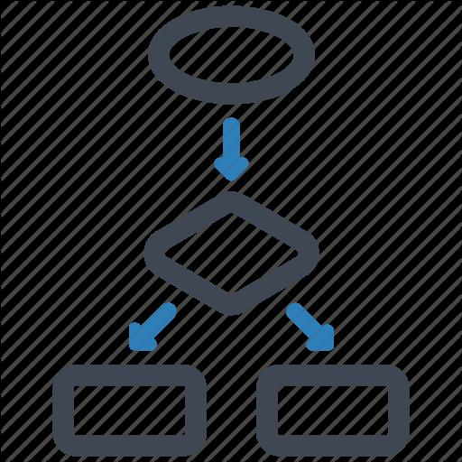 Diagram, Flowchart, Workflow Icon