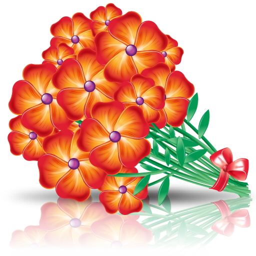 Flowers Bouquet Icon Png