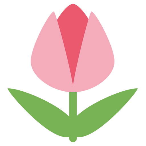 Tulip Emoji For Facebook, Email Sms Id