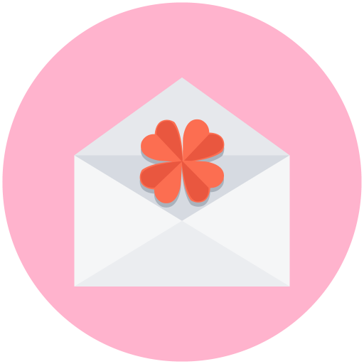 Love, Letter, Flower Icon Free Of Valentines Day Icon Pack
