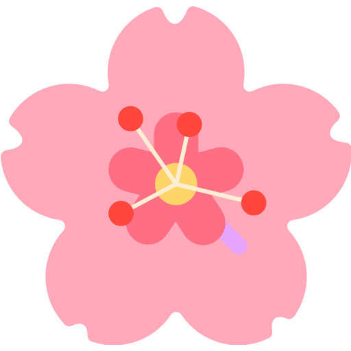 Cherry Blossom Emoji For Facebook, Email Sms Id
