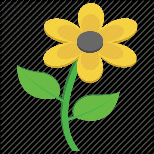 Flower, Marigold, Nature, Sunflower, Yellow Flower Icon