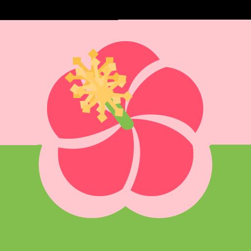 Hibiscus Flower Emoji Transparent Png Clipart Free Download