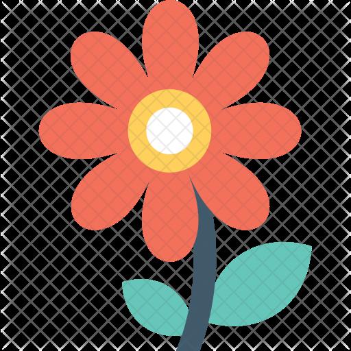 Transparent Flower Icon