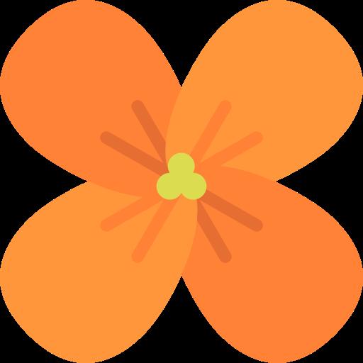 Botanical, Nature, Blossom, Petals, Wallflower, Flower Icon
