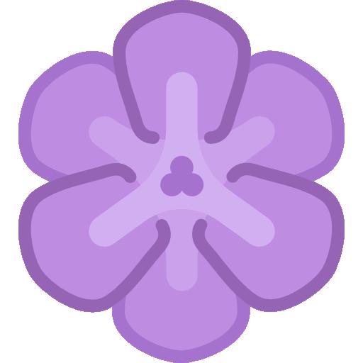 Flower Flat Plum Icon