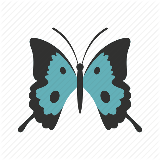 Beautiful, Beauty, Butterfly, Decorative, Fly, Natural, Spring Icon