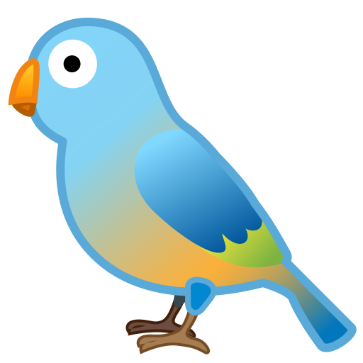 Bird Icon Noto Emoji Animals Nature Iconset Google