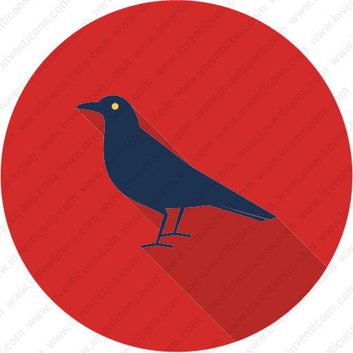 Download Crow,bird,fly,flying,wing Icon Inventicons