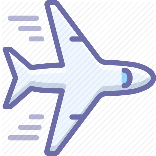 Airplane, Flying, Plane Icon
