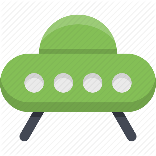 Alien, Flying Saucer, Space, Spaceship, Ufo Icon
