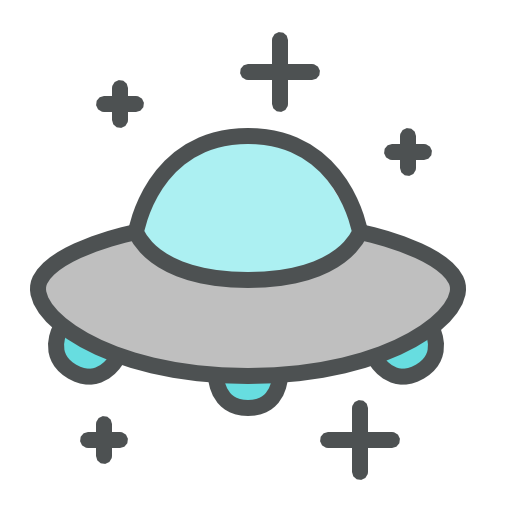 Alien Spaceship Flying Saucer Spacecraft Spaceship Ufo Icon
