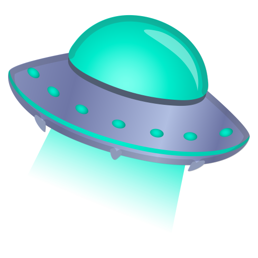 Flying Saucer Icon Noto Emoji Travel Places Iconset Google
