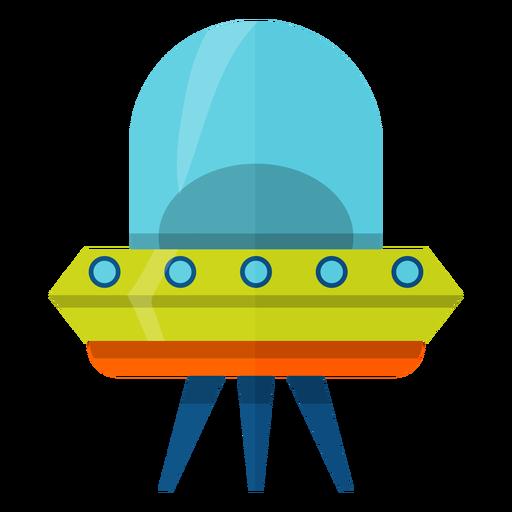 Flying Saucer Illustration