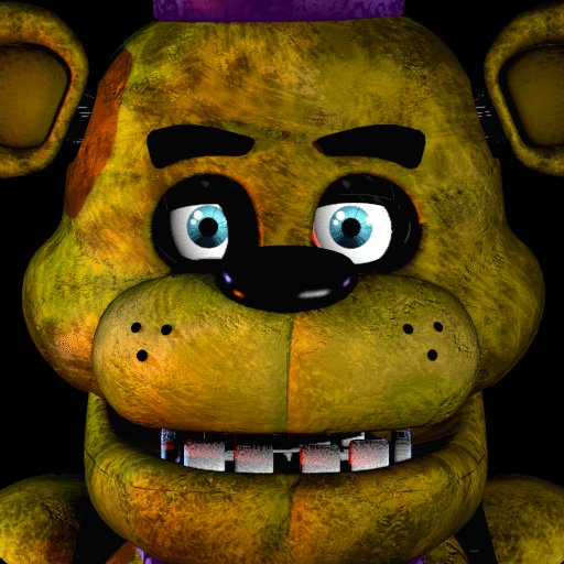 On Twitter It's The Fnaf Icon With Fredbear