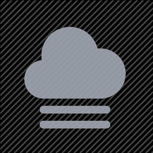 Apple, Cloud, Fog, Humidity, Mist, Night, Weather Icon