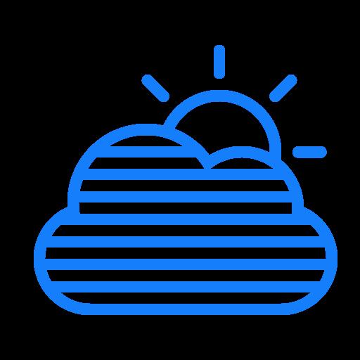 Fog, Cloud, Sun Icon