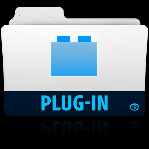 Plugin Folder Icon Adobe Folders Iconset Vladgohn