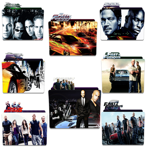 Fast And Furious Folder Icon Pack