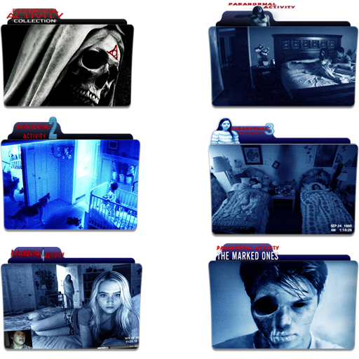 Paranormal Activity Folder Icon Pack