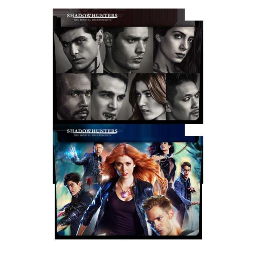 Shadowhunters Folder Icon Pack