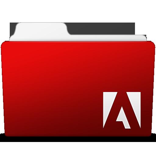 Adobe Flash Folder Icon Smooth Leopard Iconset Mcdo Design