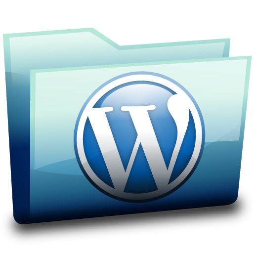 Wordpress Folder Icon Download Free Icons