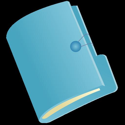 Color Folder Icon Free Vector