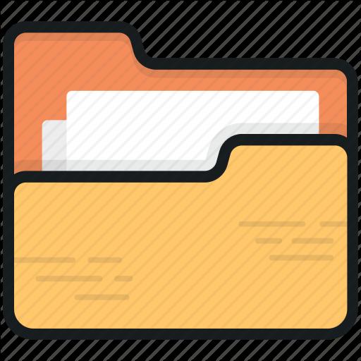 Data Folder, Data Storage, Document Folder, Storage, Folder Icon