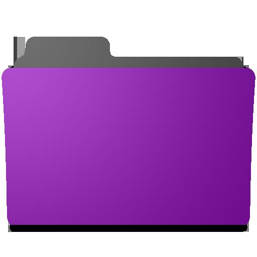 Folder Icons Purple