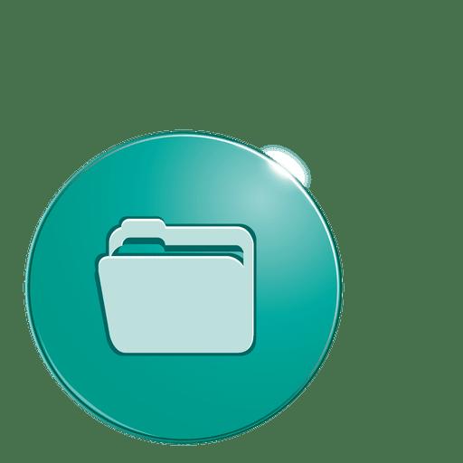 Folder Bubble Icon