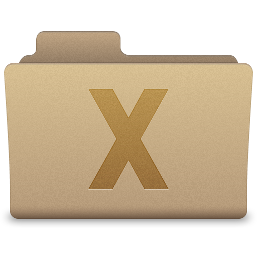 Vector System Folder Icon