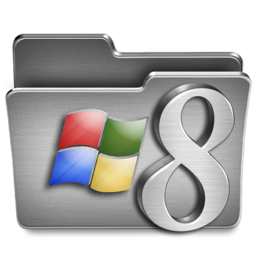 Windows, Folder Icon Free Of Steel System Icons
