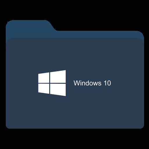 Folder Dark W Icon