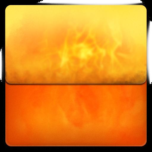 Fire, Folder Icon Free Of Blox Folder Icons